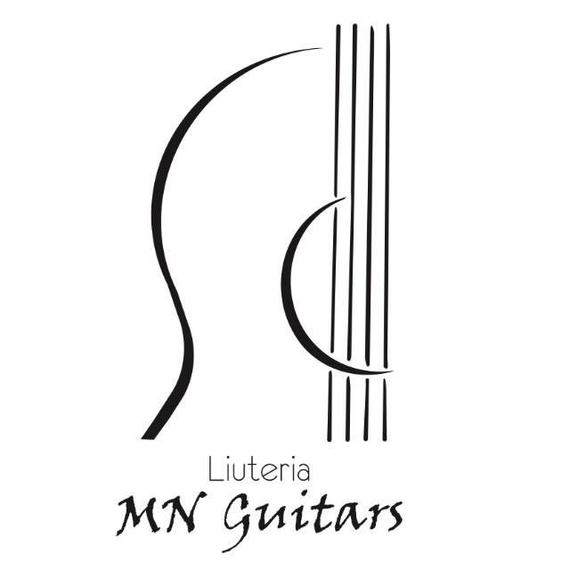 Logo MN GUITARS white
