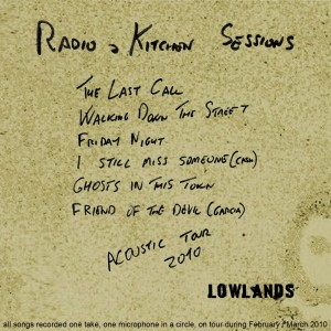 Radio & Kitchen Sessions - Acoustic Tour 2010 (single)