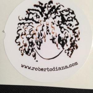 Roberto Diana White Stickers