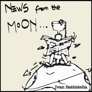 Ivan Battistella - News From The Moon (Front)