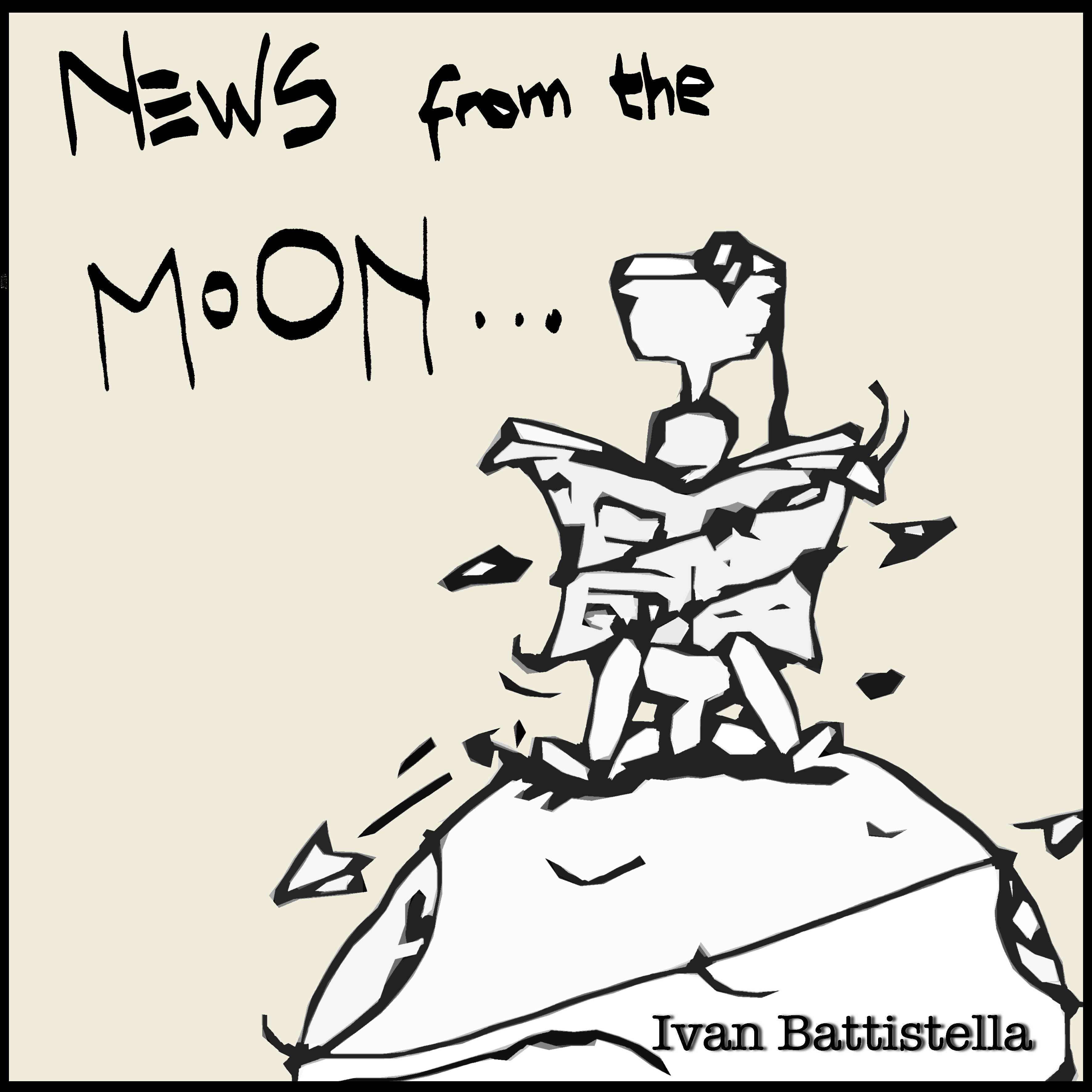 Ivan Battistella - News From The Moon (Front)