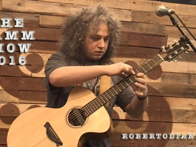 Roberto Diana NAMM SHOW 2016 LIVE VIDEO
