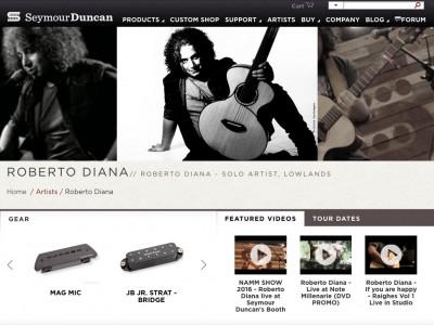 Roberto Diana Seymour Duncan MAG MIC 6