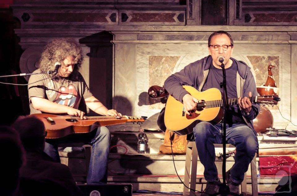 Roberto Diana and Jimmy Ragazzon