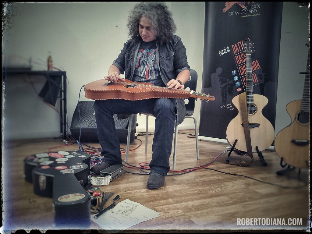 Roberto Diana Weissenborn Workshop Turin x4m - School of musicians turin