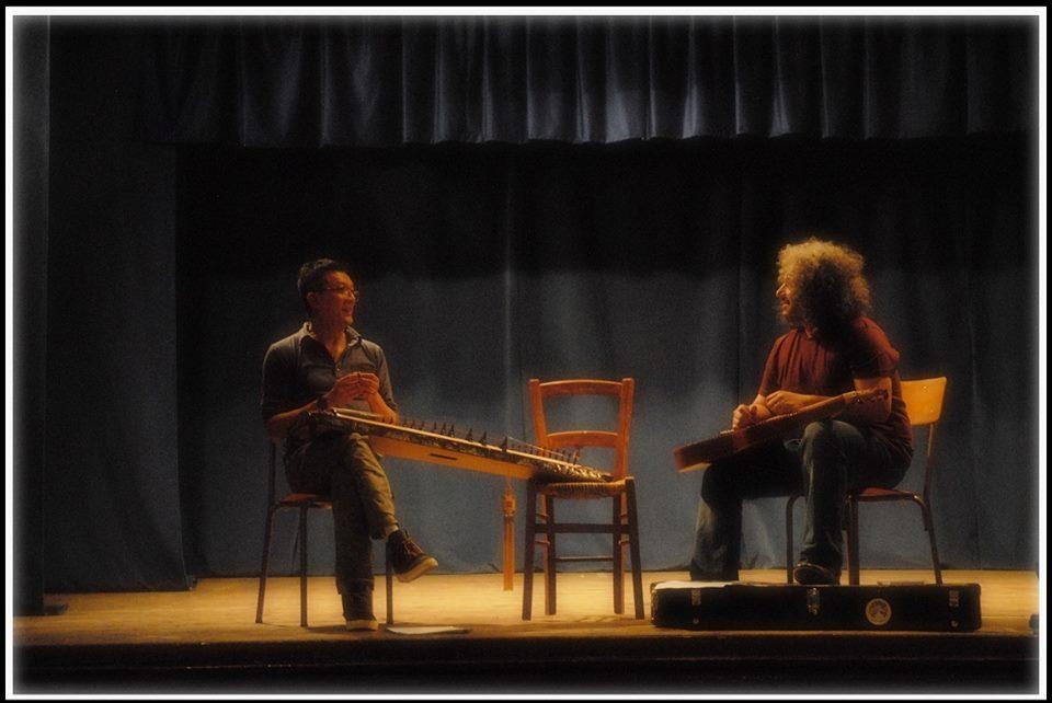 Tri Nguyen (Dan Tranh Zither) Roberto Diana (Weissenborn) Live
