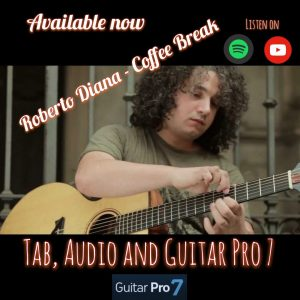 Coffee Break Guitar Tab Guitar Pro and Audio by Roberto Diana