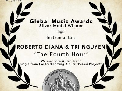 Global Music Awards Silver Medal Winner Roberto Diana and Tri Nguyen Weissenborn and Dan Tranh Instrumental The Fourth Hour