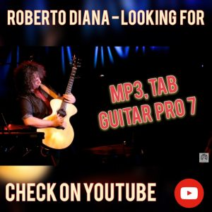 Roberto Diana Looking For Guitar Tab