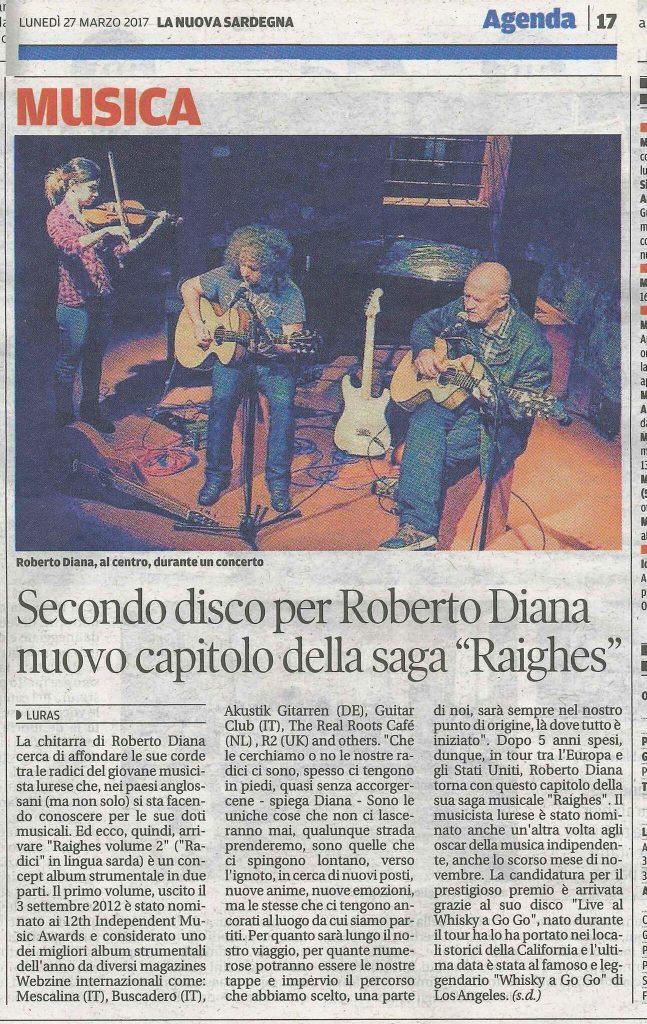 La nuova Sardegna (March 26)