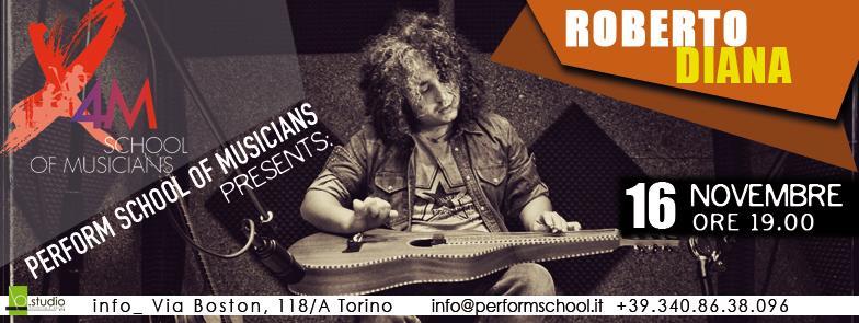 Roberto Diana Weissenborn Workshop Torino