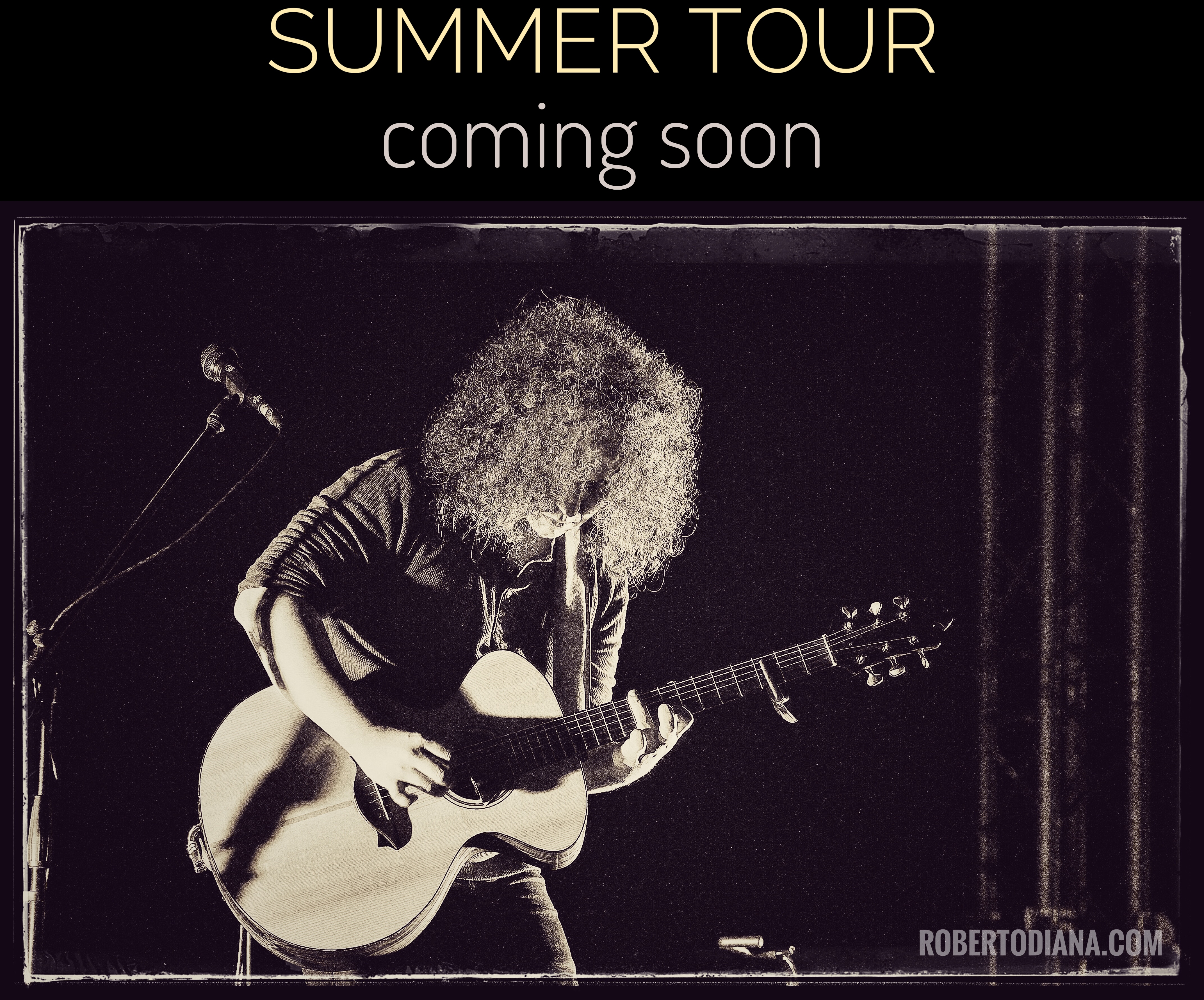 Summer Tour - coming soon