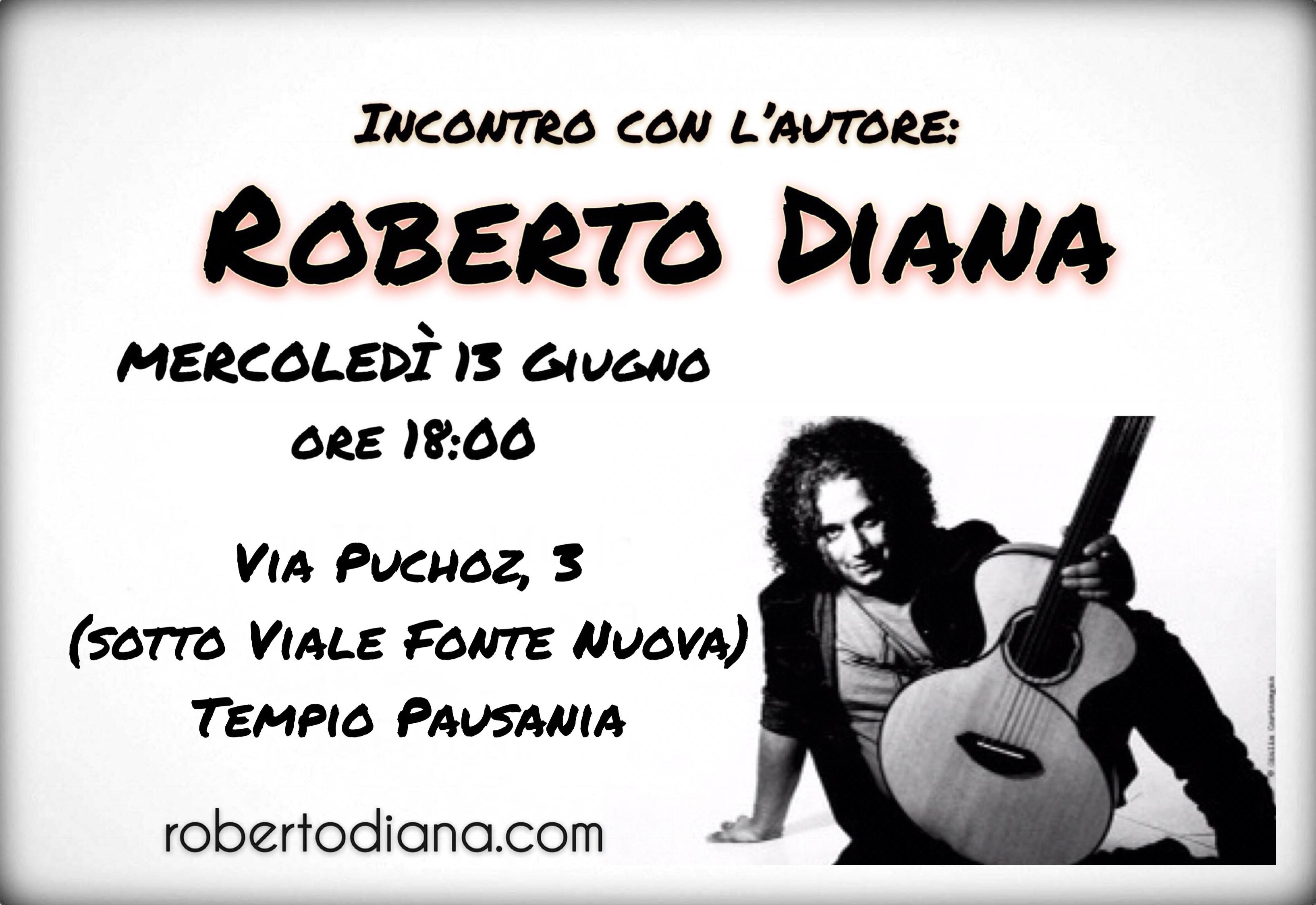 Incontro con l'artista - Roberto Diana musica musicista