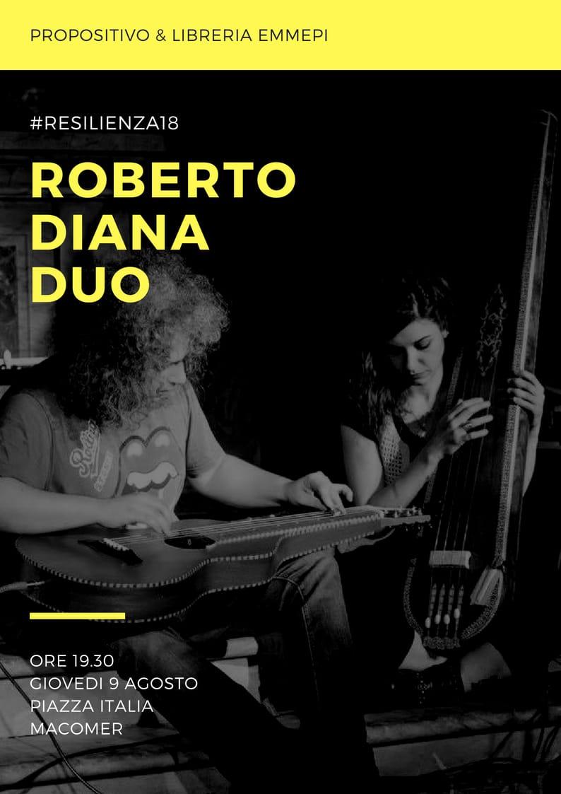 Roberto Diana & Giuia Cartasegna Macomer Weissenborn Violin Guitar