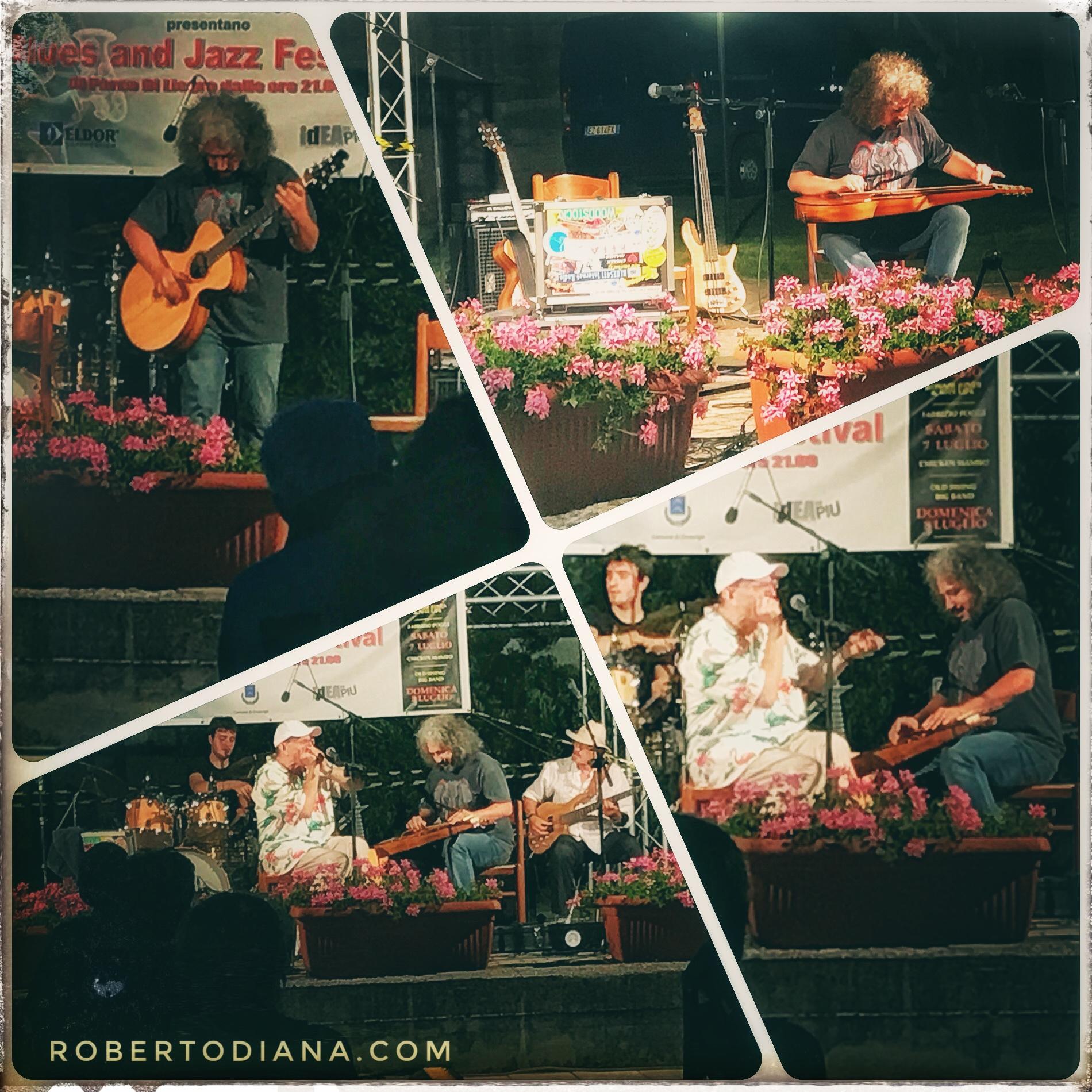 Roberto Diana - Fabrizio Poggi & Chicken Mambo Live