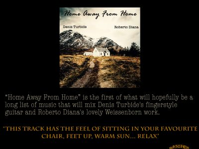 home away from home Denis Turbide & Roberto Diana